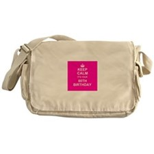 Keep Calm its your 80th Birthday Messenger Bag