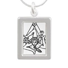 Freemasons Sicilian Trinacria Necklaces