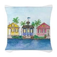 St. Martin Woven Throw Pillow