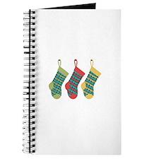 Christmas Knit Stockings Journal