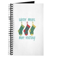 Winter Means More Knitting! Journal