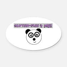 GLUTEN-FREE 4 ME Oval Car Magnet