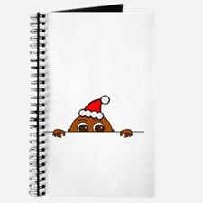 Christmas Baby Peeking Journal