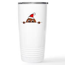 Christmas Baby Peeking Travel Mug