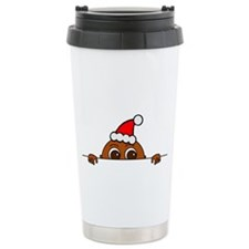 Christmas Baby Peeking Travel Mug