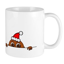 Christmas Baby Peeking Mugs