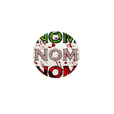 NomNomNom Mini Button (10 pack)