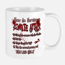Zombie Attack Survival Mugs