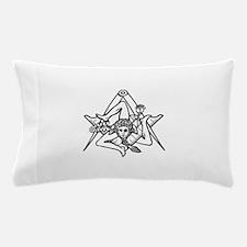 Freemasons Sicilian Trinacria Pillow Case