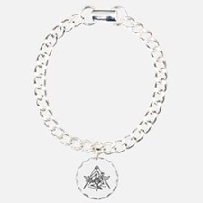 Freemasons Sicilian Trin Charm Bracelet, One Charm
