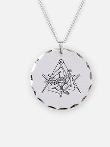 Freemasons Sicilian Trinacri Necklace