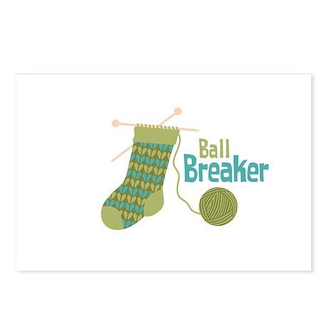 Ball Breaker Postcards (Package of 8)