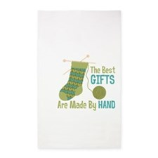 The Best Gifts Are Made By Hand 3'x5' Area Rug