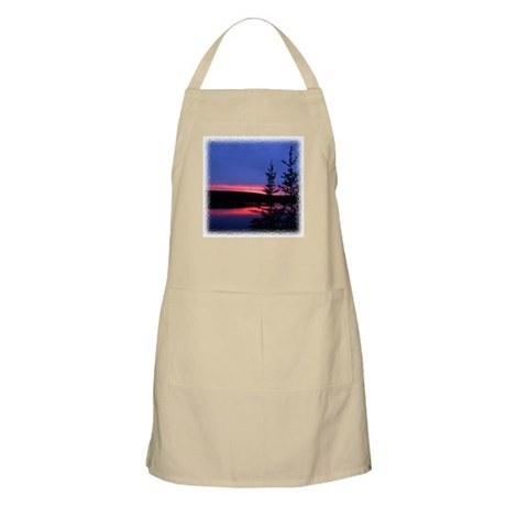 Great Slave Lake Sunset BBQ Apron