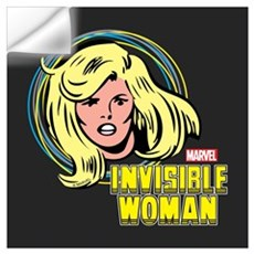 Invisible Woman Wall Art Wall Decal