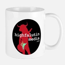 highfalutin media logo Mugs