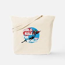 Girls Rule the World Tote Bag