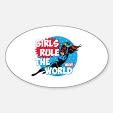 Girls Rule the World Decal
