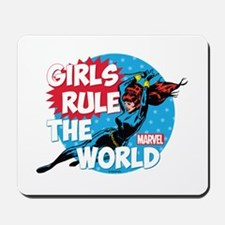 Girls Rule the World Mousepad