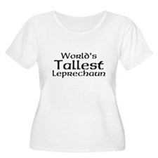 Worlds Tallest Leprechaun Plus Size T-Shirt