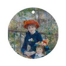 Two Sisters Ornament (Round)