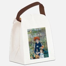 Two Sisters Canvas Lunch Bag