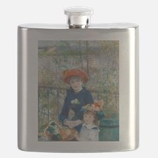 Two Sisters Flask