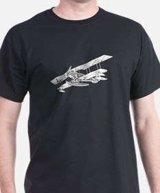 Curtiss JN-4 Jenny Float Plane T-Shirt