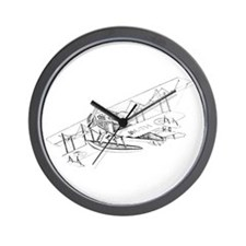 Curtiss JN-4 Jenny Float Plane Wall Clock