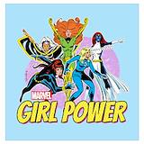Girl power marvel Posters