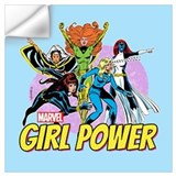 Girl power marvel Wall Decals