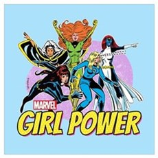 Marvel Girl Power Wall Art Poster