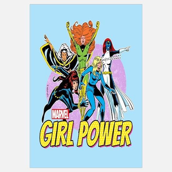 Marvel Girl Power Wall Art