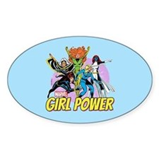 Marvel Girl Power Decal