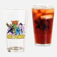 Marvel Girl Power Drinking Glass