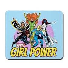 Marvel Girl Power Mousepad