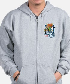 Marvel Ladies Night Zip Hoodie