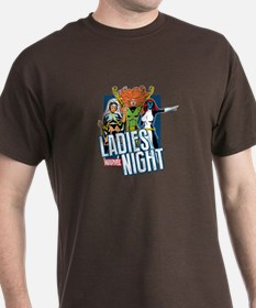 Marvel Ladies Night T-Shirt