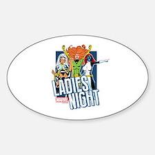 Marvel Ladies Night Decal