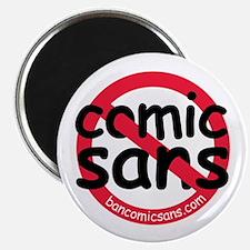 No Comic Sans Magnet