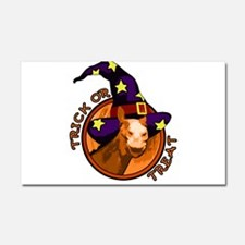 trick or treat horse Car Magnet 20 x 12