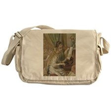 Girls at the Piano Messenger Bag