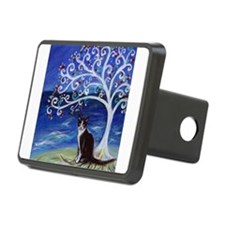 Tuxedo Cat Tree of Life Hitch Cover