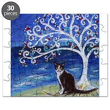 Tuxedo Cat Tree of Life Puzzle