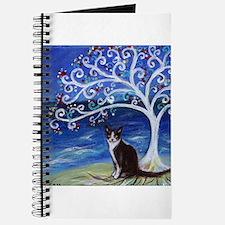 Tuxedo Cat Tree of Life Journal