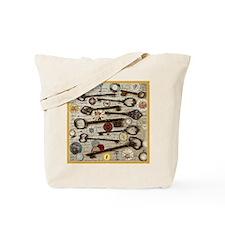 Keys, And Compasses Tote Bag