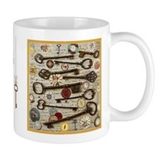 Keys, And Compasses Small Mug