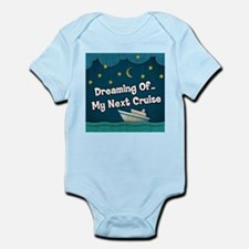 Dreaming Of My Next Cruise Infant Bodysuit