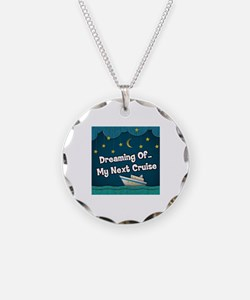 Dreaming Of My Next Cruise Necklace
