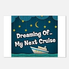Dreaming Of My Next Cruis Postcards (Package of 8)